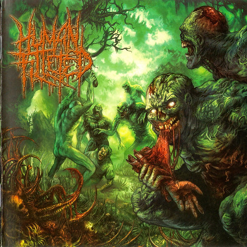 "Human Filleted ""Blunt Force Embludgeonment"" CD"