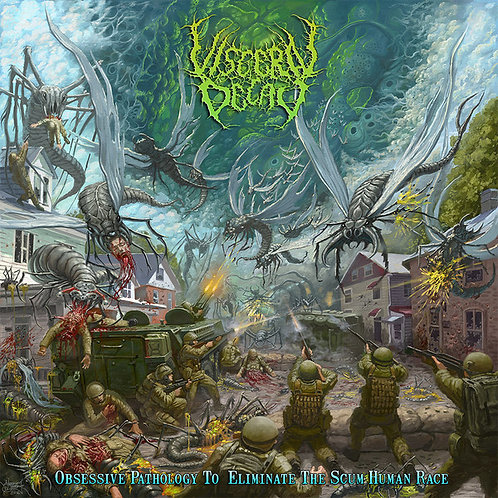 """Visceral Decay """"Obsessive Pathology To Eliminate The Scum Human Race"""" CD"""