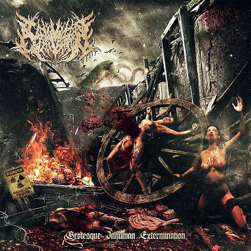 "Carnivorous Eyaculation ""Grotesque Inhuman Extermination"" CD"