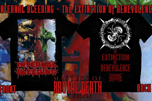 "Internal Bleeding ""The Exctinction of Benevolence"" t-shirt"