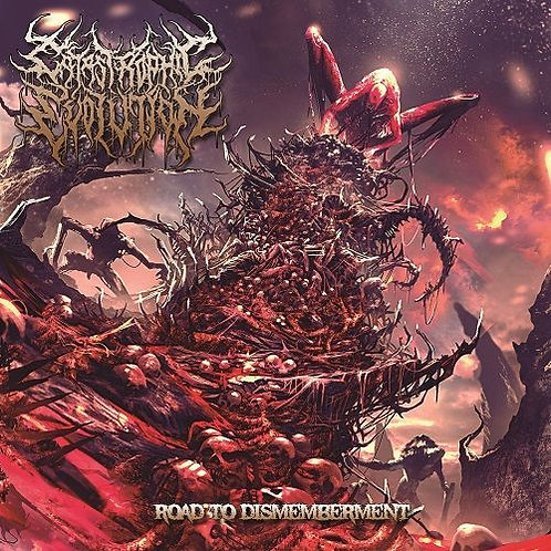 """Catastrophic Evolution """"Road To Dismemberment"""" CD"""