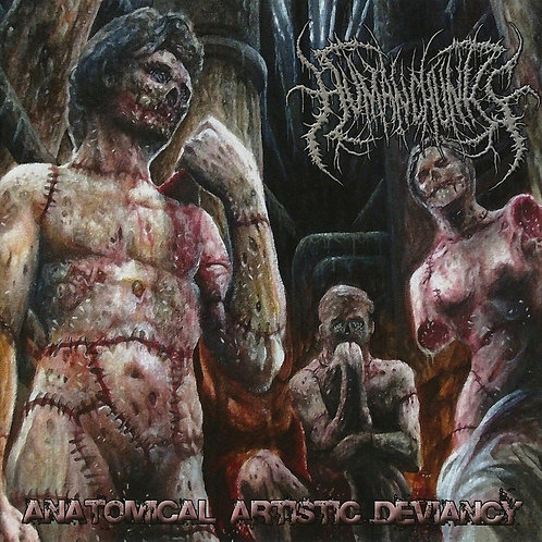 "Human Chunks ""Anatomical Artistic Deviancy"" CD"