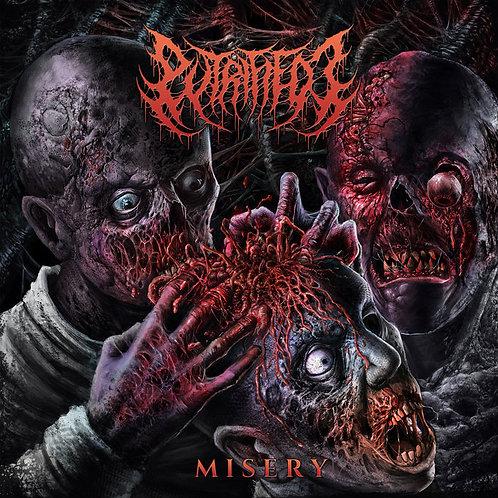 "Putrefied J ""Misery"" CD"