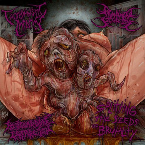 Cannibalistic Infancy/Interminable Corruptions/Myocardial Infarction Split CD