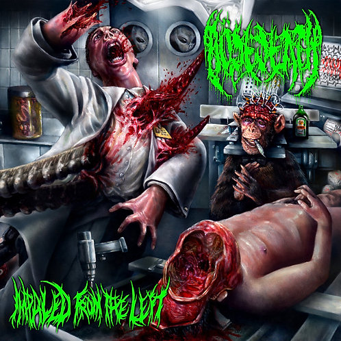 "Bösedeath ""Impaled From The Left"" CD"