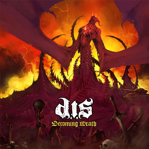 """Destroyed In Seconds """"Becoming Wrath"""" CD"""