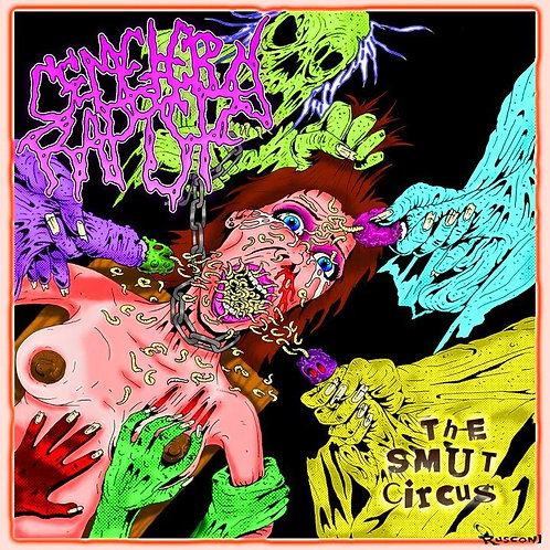 "Cemetary Rapist ""The Smut Circus"" CD"