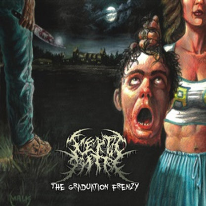 "Aceptic Goitre ""The Graduation Frenzy"" CD"