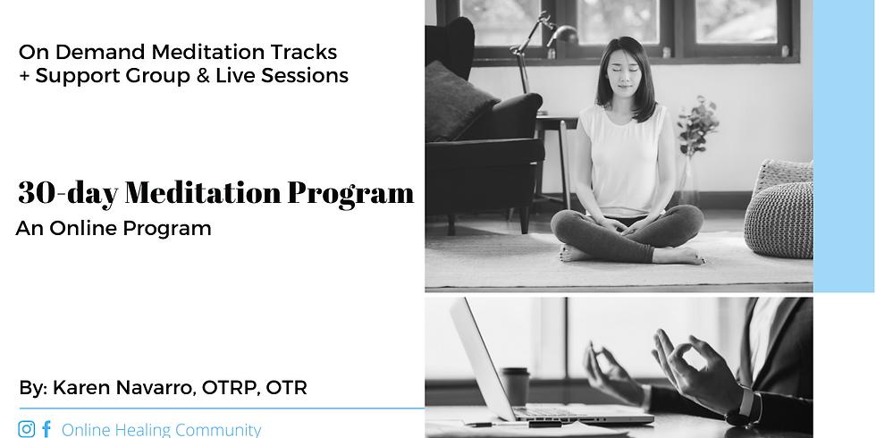 30-Day Meditation Program