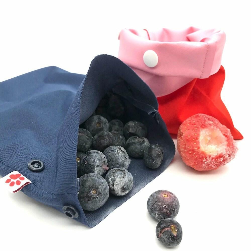 Des sacs en tissu réutilisables et imperméables pour la congélation