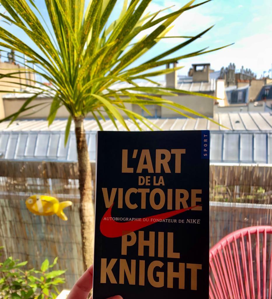 Livre L'Art de la Victoire de Phil Knight