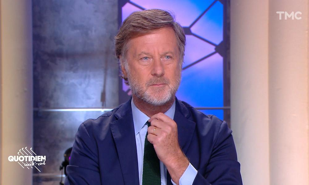 Sébastien Bazin dans l'émission de télévision Quotidien