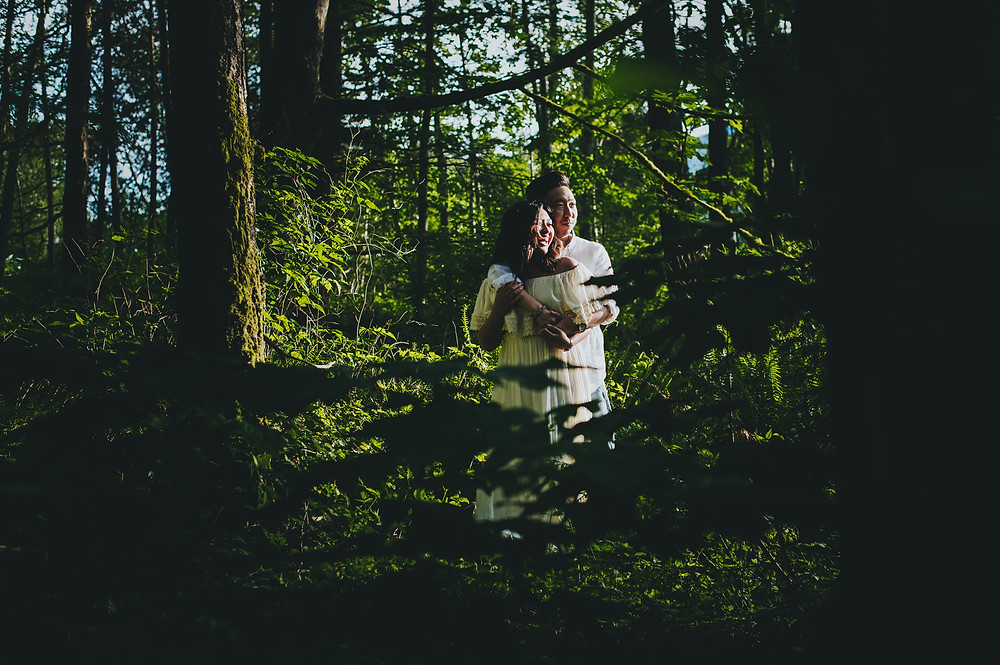 porteau cove adventure engagement session