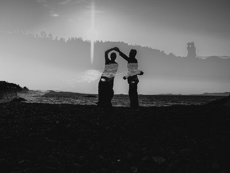 Outlander Dreams on Vancouver Island | Neck Point Engagement Session
