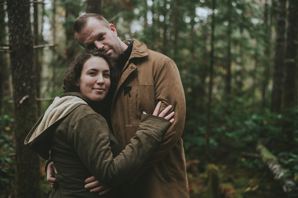 Lake Cowichan engagement session