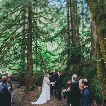 Englishman River Falls Wedding