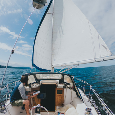 What It's Really Like Living On a Sailboat