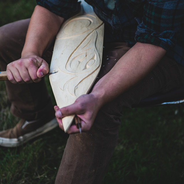 Local First Nations carver