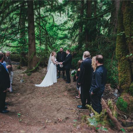 Darylann & Devin | Intimate Forest Wedding