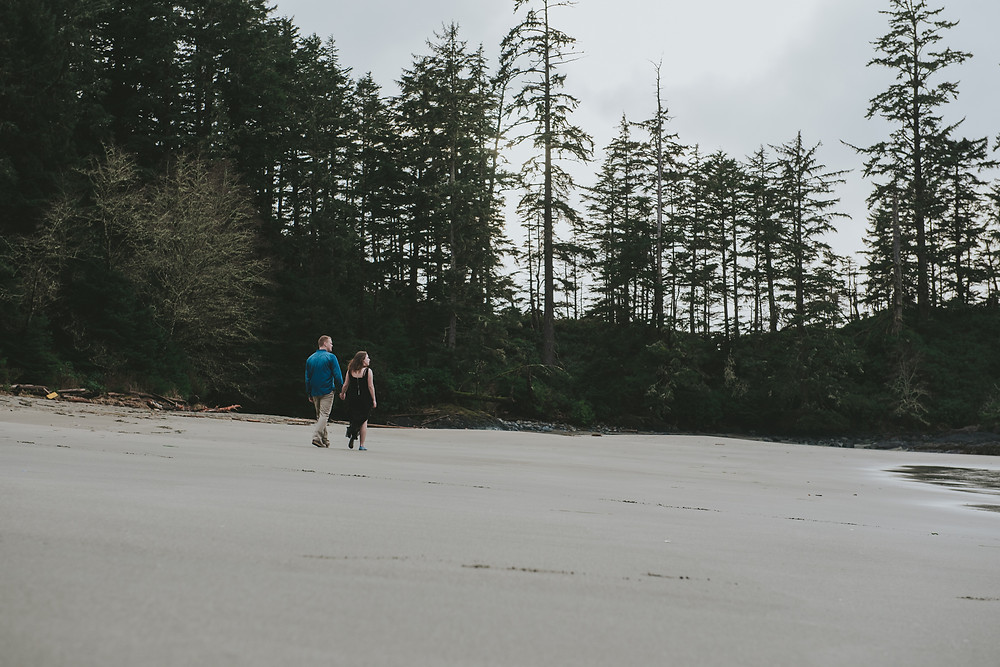 ucluelet engagement session