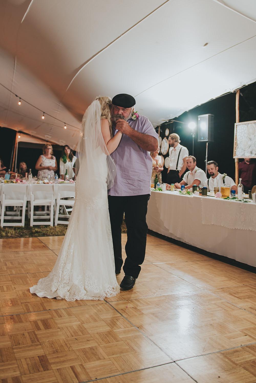 vancouver island farm wedding