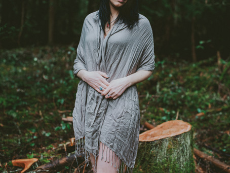 Forest Boudoir    Lady in the Woods