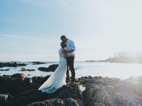 Alex & Rachael | Ucluelet Wedding