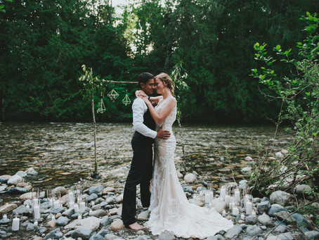 Elopement Inspiration | Riverside Elopement
