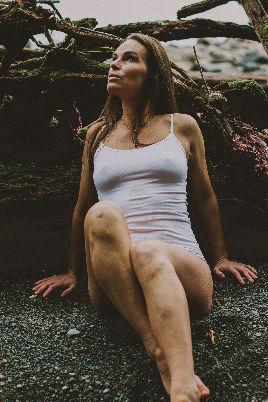 Outdoor Boudoir Vancouver Island