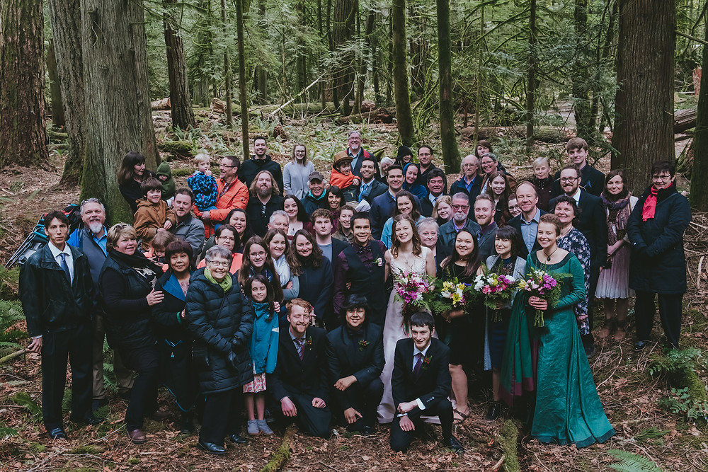 forest wedding photographer
