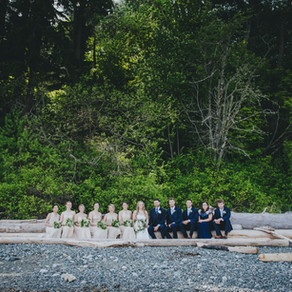 courtenay backyard wedding