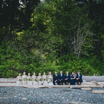 courtenay backyard wedding