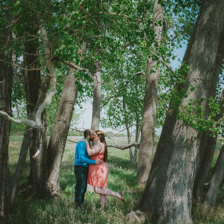 Prairie Love | Chestermere Engagement Session