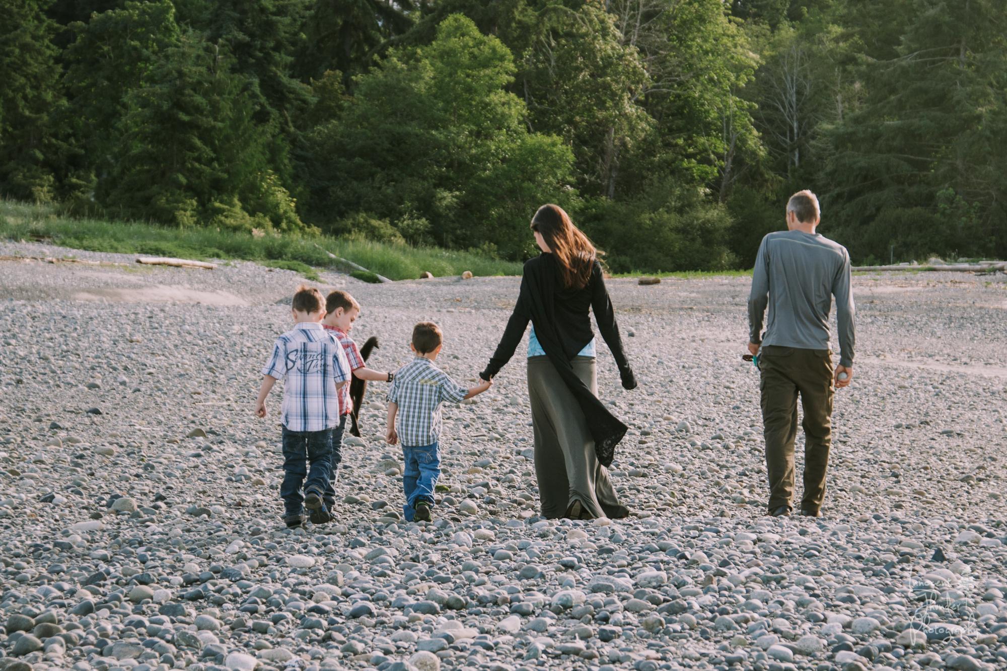 Family Portrait, Parksville, BC