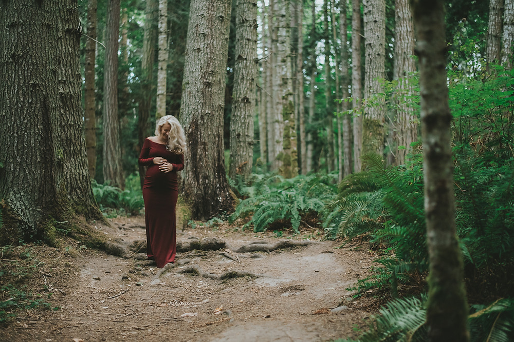 parksville maternity photography