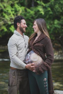 parksville maternity photography