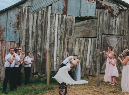 Teighan & Cleighton | Cedar Farm Wedding