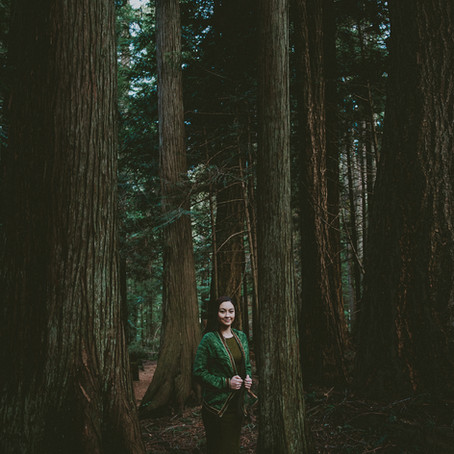 Cheyanne in the Woods
