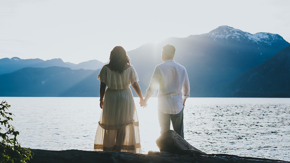 squamish adventure engagement session