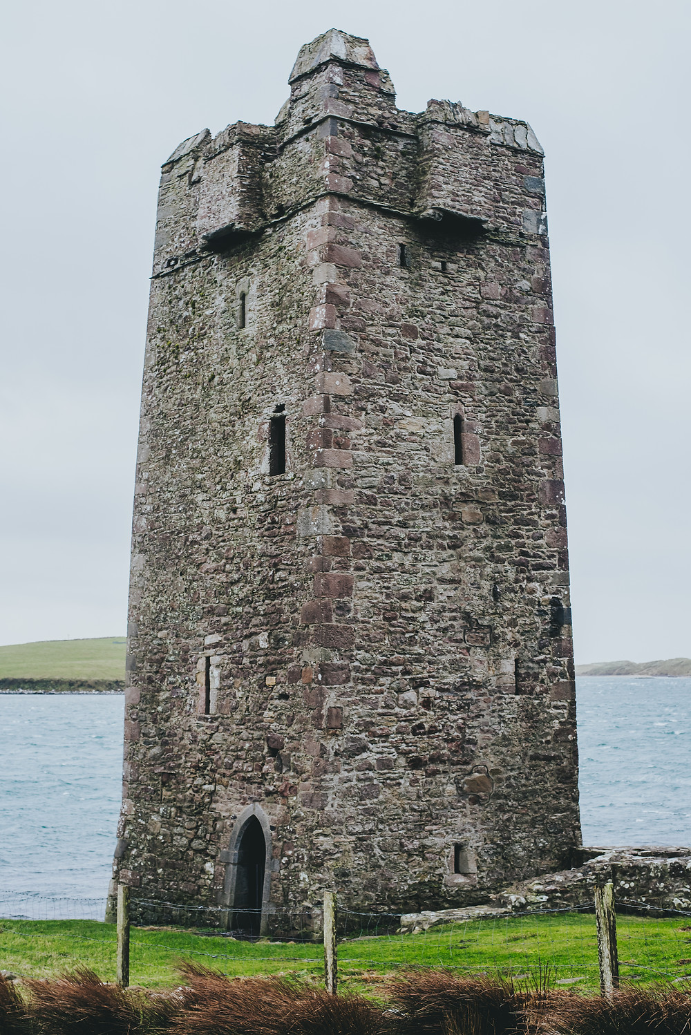 Grace O'Malley's Castle, Achill Island, Ireland