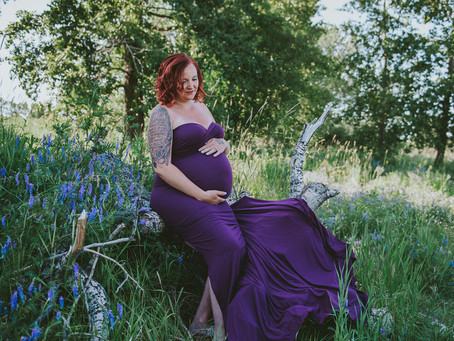 Jenna the Expecting Princess | Calgary Maternity Photographer