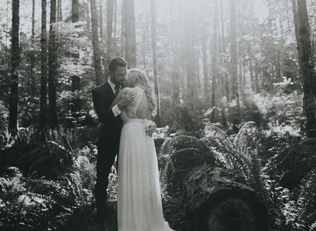 Alex & Myles | Courtney Backyard Wedding