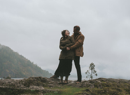 Madeline & Hans | Lake Cowichan Engagement