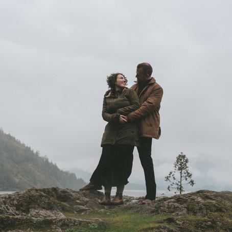 Madeline & Hans | Lake Cowichan Engagement