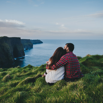 Cliffs of Moher Engagement session