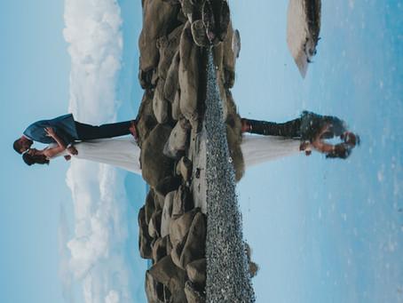 Hailey & Tom Got Married   Dragon's Lodge, Gabriola Island