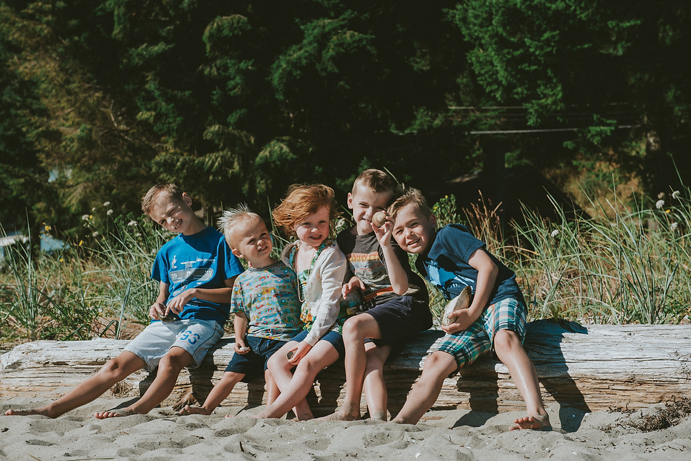 Qualicum Beach family photographer