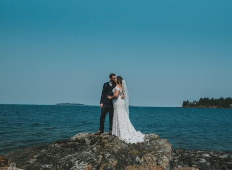 Ashley & Brady   Intimate Rathtrevor Wedding