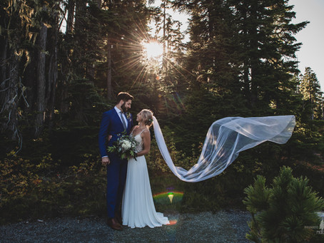 Love in the Mountain Meadow | Mount Washington Wedding