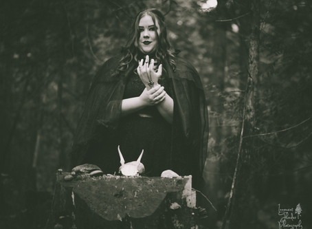 A Witch in the Woods | Halloween Creative Session
